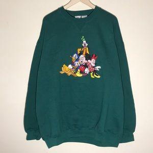 🔥Vintage 1990s Disney Embroidered Sweatshirt
